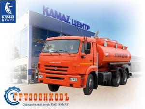 Автоцистерна на шасси КАМАЗ 65115-3964-48