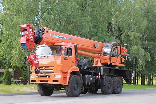 АВТОМОБИЛЬНЫЙ КРАН KC-65719-5К