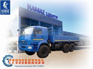 Бортовой КАМАЗ 43118-6012-50