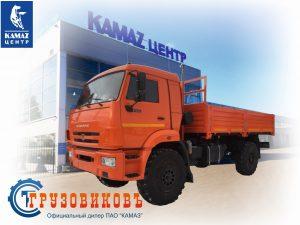 Бортовой КАМАЗ 43502-6023-66(D5)
