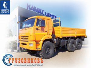 Бортовой КАМАЗ 5350-6017
