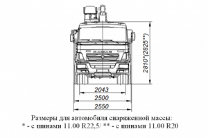 БОРТОВОЙ АВТОМОБИЛЬ 659000 С КМУ SOOSAN SCS746L TOP НА ШАССИ КАМАЗ-65117-3010-48(А5)